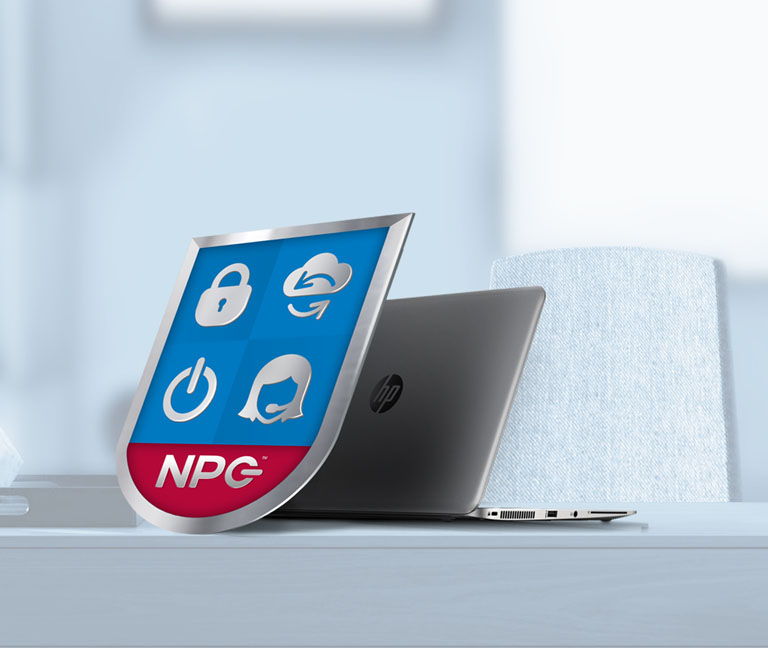NPC Shield and Laptop